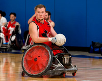 2015 Canadian National Wheelchair Rugby Team