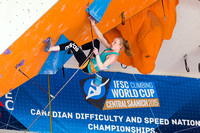 2015 CEC Nationals, Lead Semis and Finals, May 17-18, 2015