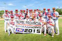 2015 BCPBL Provincials, July 31-Aug 2, 2015, Victoria