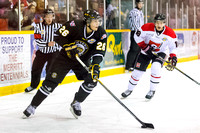 Victoria Grizzlies vs Merritt Centennials, Oct. 19, 2014