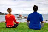 Yoga at Lower Battery