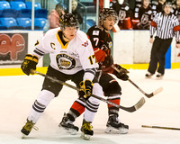 Victoria Grizzlies vs Alberni Valley Bulldogs, Jan. 21, 2015