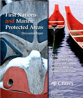 CPAWS Report Cover (Canoes on Right Half)