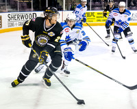 Victoria Grizzlies vs Penticton Vees, Oct. 18, 2014
