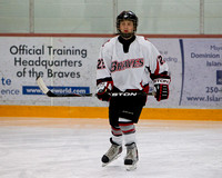 2011-2012 Saanich Braves Junior B Hockey club