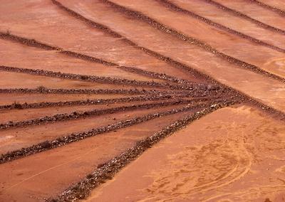 Copper Tailings, Clarkdale, Arizona