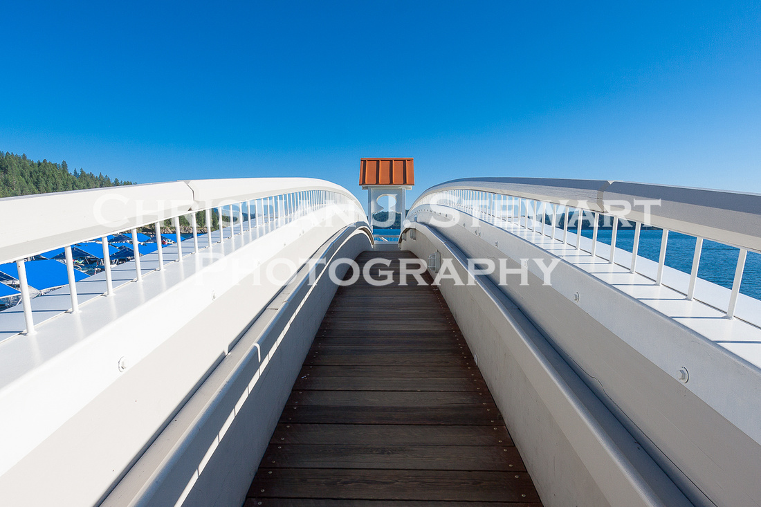 Boardwalk Detail, Coeur D'Alene, Idaho