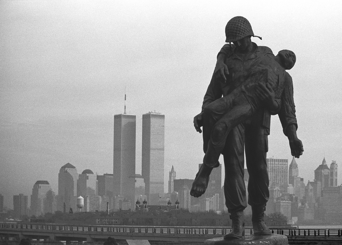 Twin Towers and Liberation Monument, Liberty State Park, New Jersey