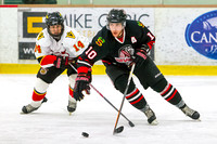 Saanich Braves vs Victoria Cougars, Jan. 24, 2014