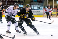 Victoria Grizzlies vs Salmon Arm Silverbacks, Jan. 23, 2016