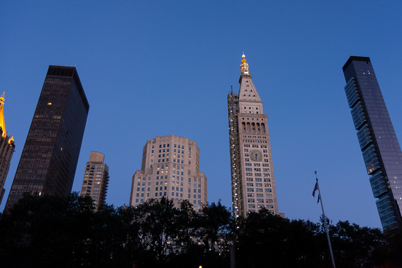 Skyline, Flatiron District, New York City