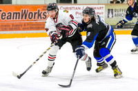 Saanich Braves vs Westshore Wolves, Playoffs Game 2, Feb. 20, 2015