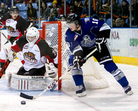 Victoria Royals vs Prince George Cougars, Oct.  16, 2013
