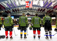 Vancouver Canucks Alumni vs CF Wounded Warriors, Mar. 6, 2016
