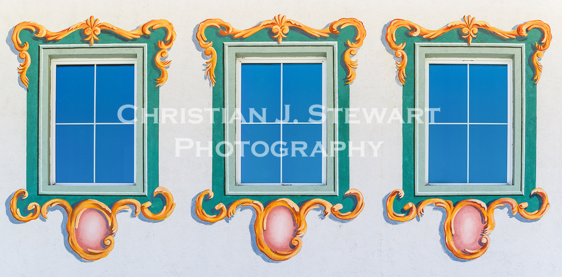 Window Detail, Leavenworth, Washington